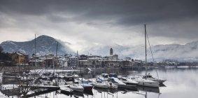 Feriolo, Lago Maggiore, Piemont, Lombardei, Italien — Stockfoto