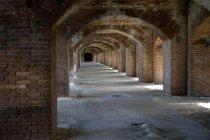 Interior da fortaleza de Fort Jefferson — Fotografia de Stock