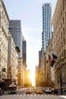 Traffic on 7th Avenue, New York, USA — Stock Photo