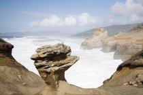 Vista panoramica della montagna a Capo kiwanda, Stati Uniti d'America — Foto stock