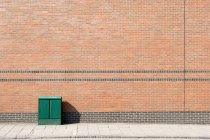 Junction box on street — Stock Photo