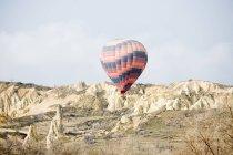Balão de ar quente na Capadócia — Fotografia de Stock