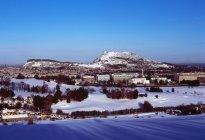 Arthur Seat e centro di Edimburgo hanno visto da Braid Hills, Edinburgh — Foto stock