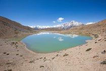 Данкар озеро в долину Спити — стоковое фото