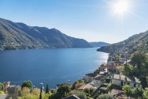 Деревня Граведона на озере Комо, Ломбардия, Италия — стоковое фото