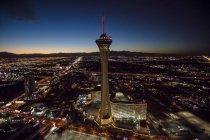 Stratosphere Casino Hotel and tower, Las Vegas, Nevada, USA — Stock Photo
