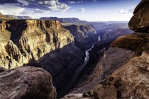 Vista do Torroweap ignorar, Littlefield, Arizona, EUA — Fotografia de Stock