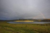 Scenic view of Vatnaleid, Snaefellsnes, Iceland — Stock Photo