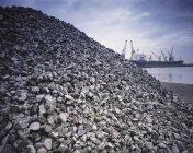 Metallerz auf Port Kai — Stockfoto