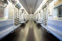 Compartimento interno do trem da vista — Fotografia de Stock