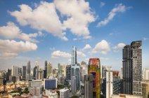 Міський пейзаж фінансового району і skyline, Сінгапур, Південно-Східної Азії — стокове фото