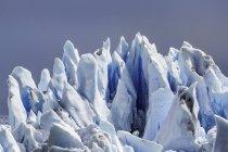Dettaglio del ghiacciaio Perito Moreno, Parco Nazionale Los Glaciares, Patagonia, Cile — Foto stock
