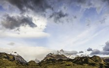 View of Fitz Roy mountain range in Los Glaciares National Park, Patagonia, Argentina — Stock Photo