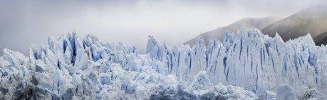 Vista panoramica del ghiacciaio del Perito Moreno, Parco Nazionale del Los Glaciares, Patagonia, Cile — Foto stock