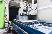 Gros plan de Machine en usine — Photo de stock