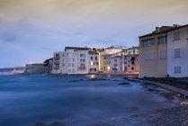 View of port, Saint-Tropez, Provence-Alpes-Cote d'Azur, France, Europe — Stock Photo