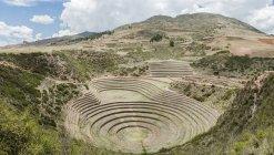 Moray Ruins, Cusco, Cusco, Peru, South America — Stock Photo