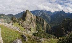 Machu Picchu, Cusco, Peru, South America — Stock Photo