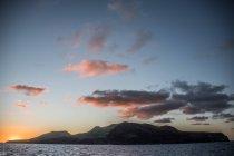 Clarion Island au coucher du soleil, Socorro, Basse-Californie — Photo de stock