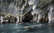 Marble caves in Puerto Tranquilo, Aysen Region, Chile, South America — Stock Photo