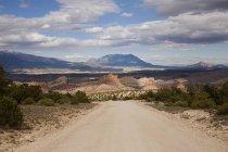 Краєвид з Burr Trail дороги в Гранд-за собою право попередньо National Monument, штат Юта, США — стокове фото