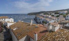 Dorf der cadaques, an der costa brava, spanien — Stockfoto