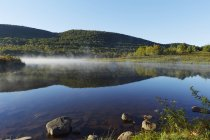 Vista panoramica di Colgate Lake Wild Forest, Parco di Catskill, New York State, Usa — Foto stock