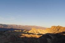 Zabriskie точки, Долина смерті Національний парк, Каліфорнія, США — стокове фото