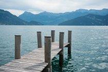 Malerischer Blick auf den Vierwaldstättersee, Schweiz — Stockfoto