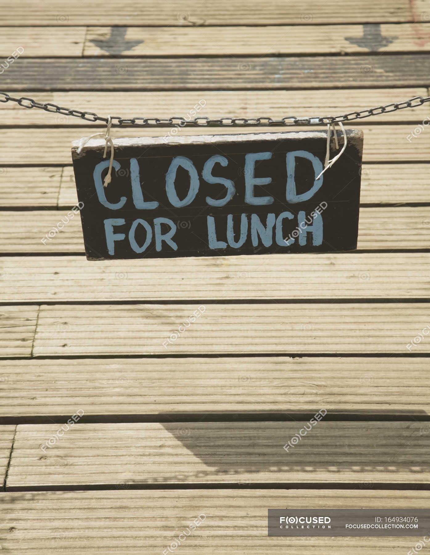 Закрыто на обед в картинках, видео