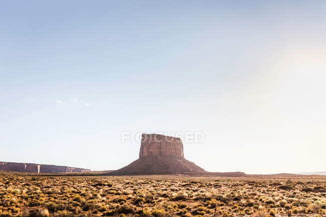Landscape with rock formation — Stock Photo