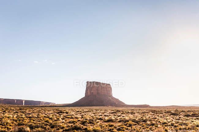 Пейзаж с скальное образование — стоковое фото