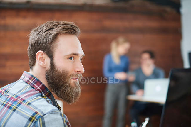 Portrait of male designer — Stock Photo