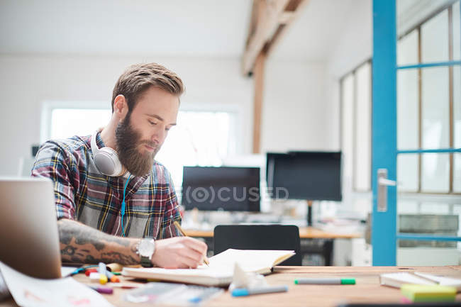 Young male designer — Stock Photo