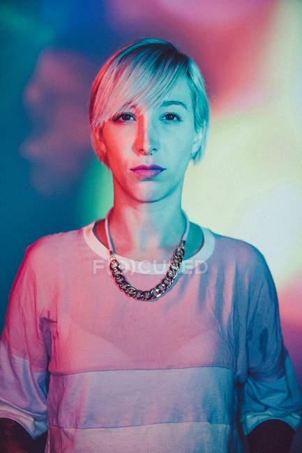 Porträt der jungen Frau — Stockfoto