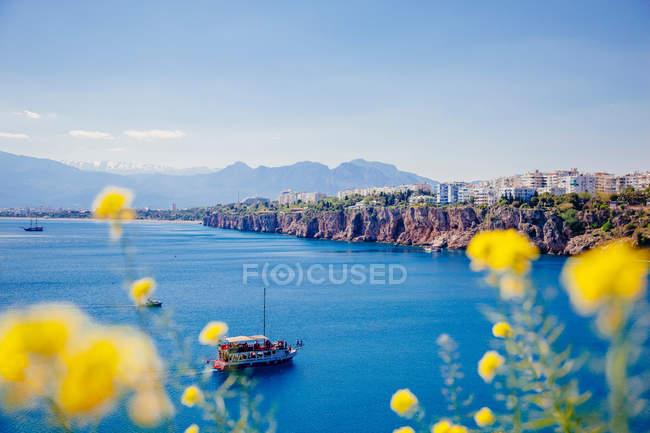 Vista del mare ad Antalya — Foto stock