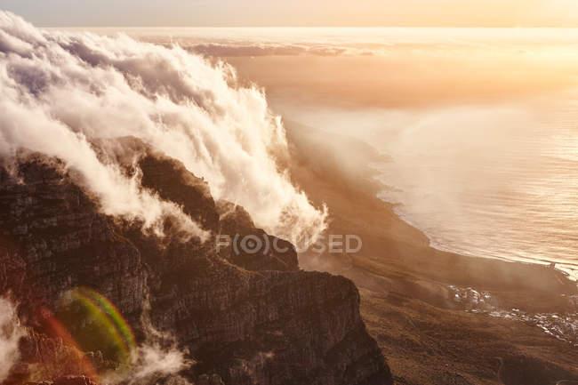 Blick vom Tafelberg — Stockfoto