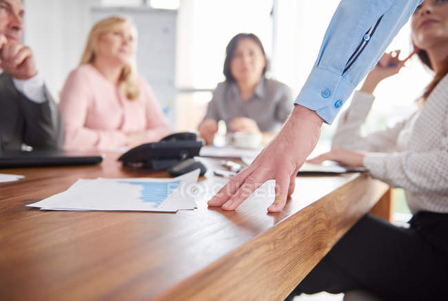 Kollegen, die Diskussion — Stockfoto