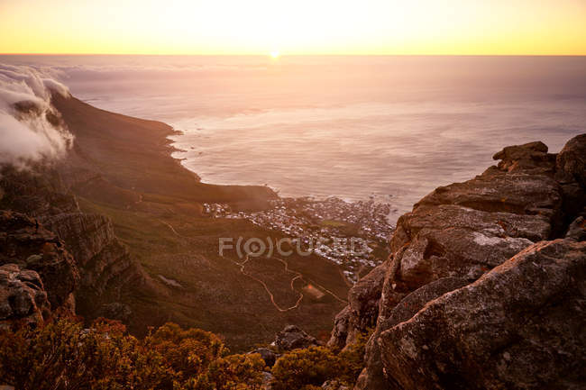 View from Table Mountain — Stock Photo