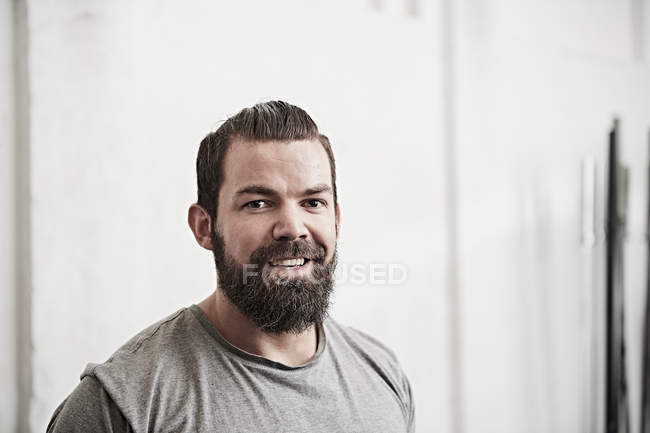 Bearded young man — Stock Photo