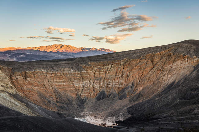 Landscape at Ubehebe Crater in Death Valley — Stock Photo