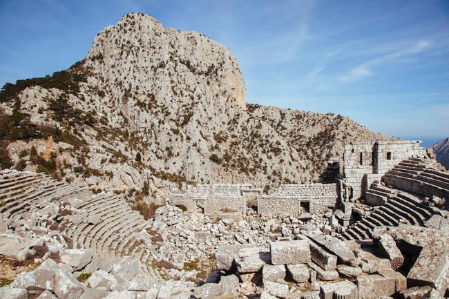 View of Termessos Amphitheatre — Stock Photo