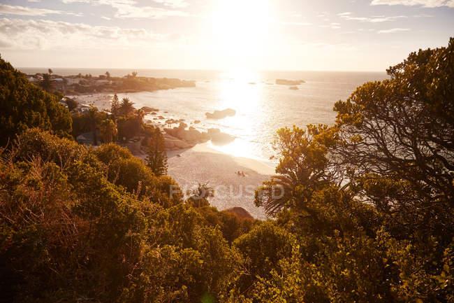 Ansicht von Clifton Beach — Stockfoto