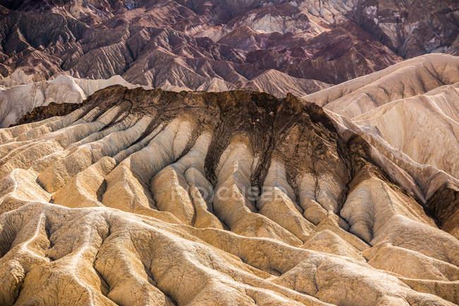 Забриски-Пойнт рок формирования пейзаж — стоковое фото