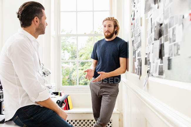 Young male designers — Stock Photo