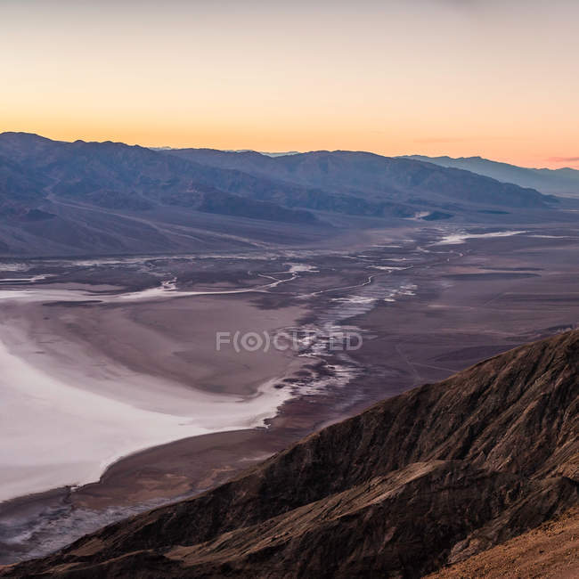 Landschaft von Dantes View — Stockfoto