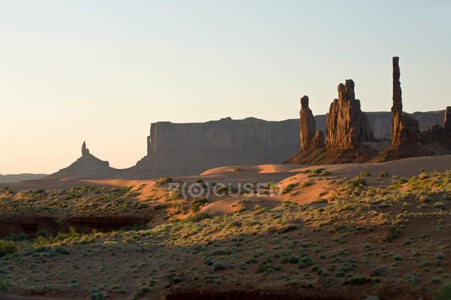 Monument Valley Navajo Tribal Park — Stock Photo