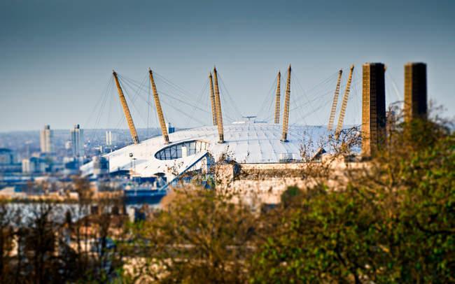 Bâtiment d'exposition Millennium Dome — Photo de stock