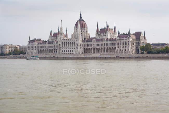 Parlamento húngaro Edifício — Fotografia de Stock