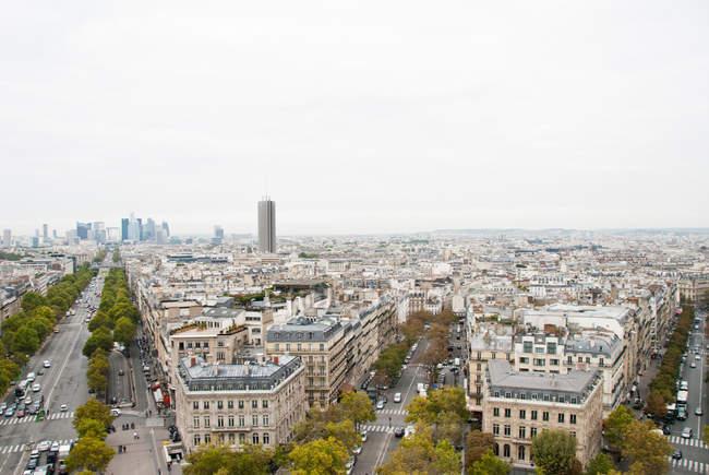 Cityscape view of Paris — Stock Photo
